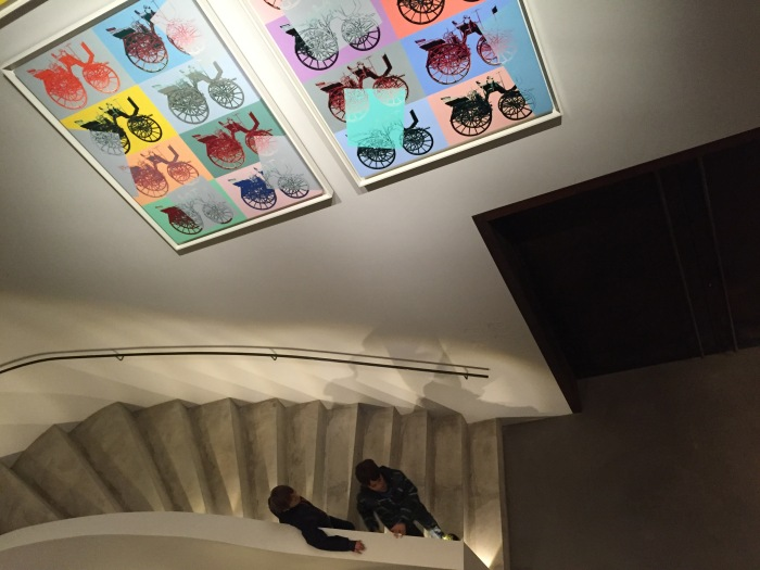 Stairway to Warhol