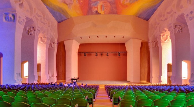 Grosser Saal am Goetheanum in Dornach