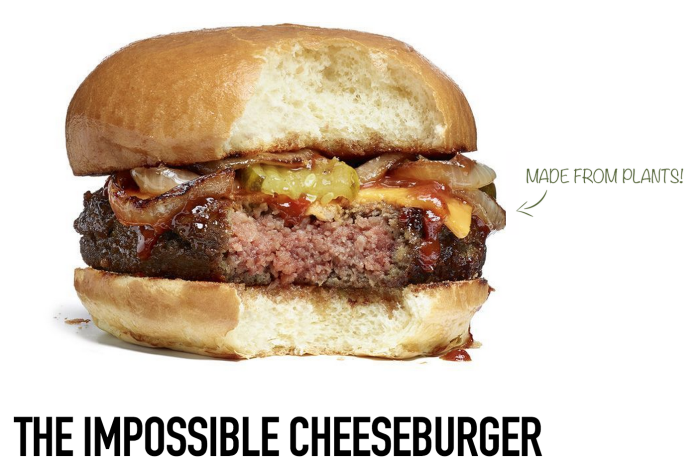 The Impossible Cheeseburger