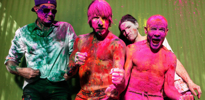 Red Hot Chili Peppers Holi